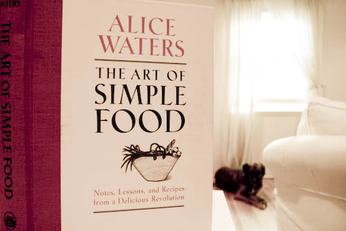 Simple Food by Alice Waters Book