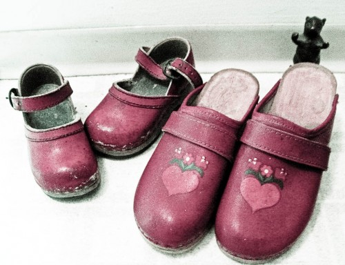 In my little wooden shoes