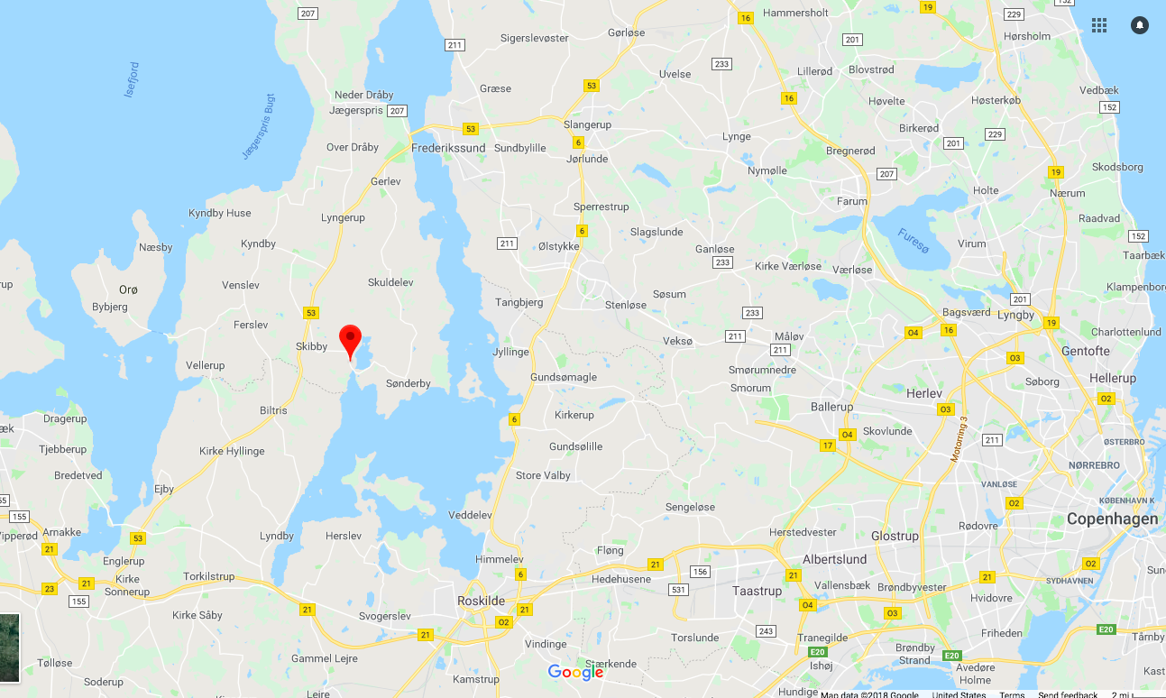 How to get to Selso Slot in Denmark