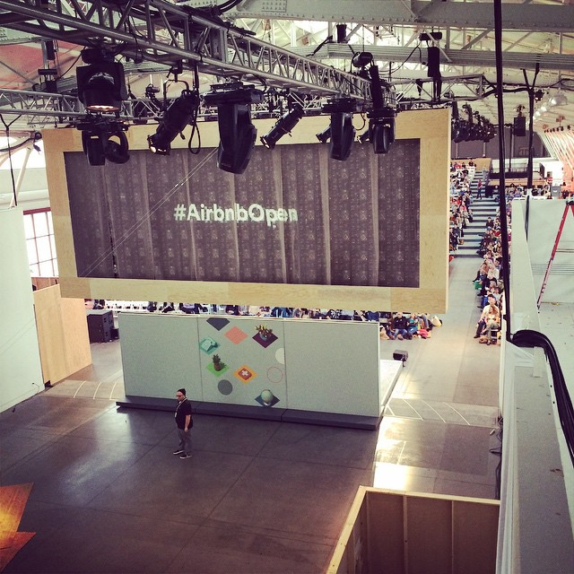 1500 hosts are here for our #AirbnbOpen conference. So exciting!