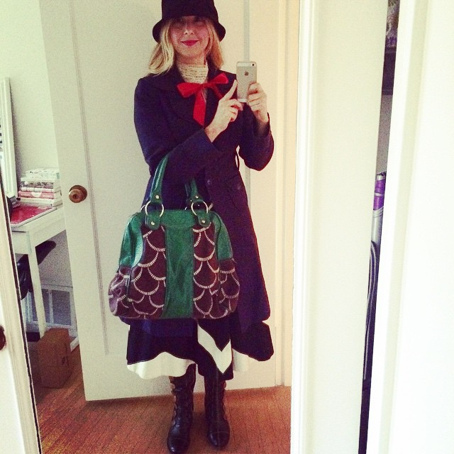 Practically perfect in every way. #halloween #onlycostumeihad #sadlynotacostume