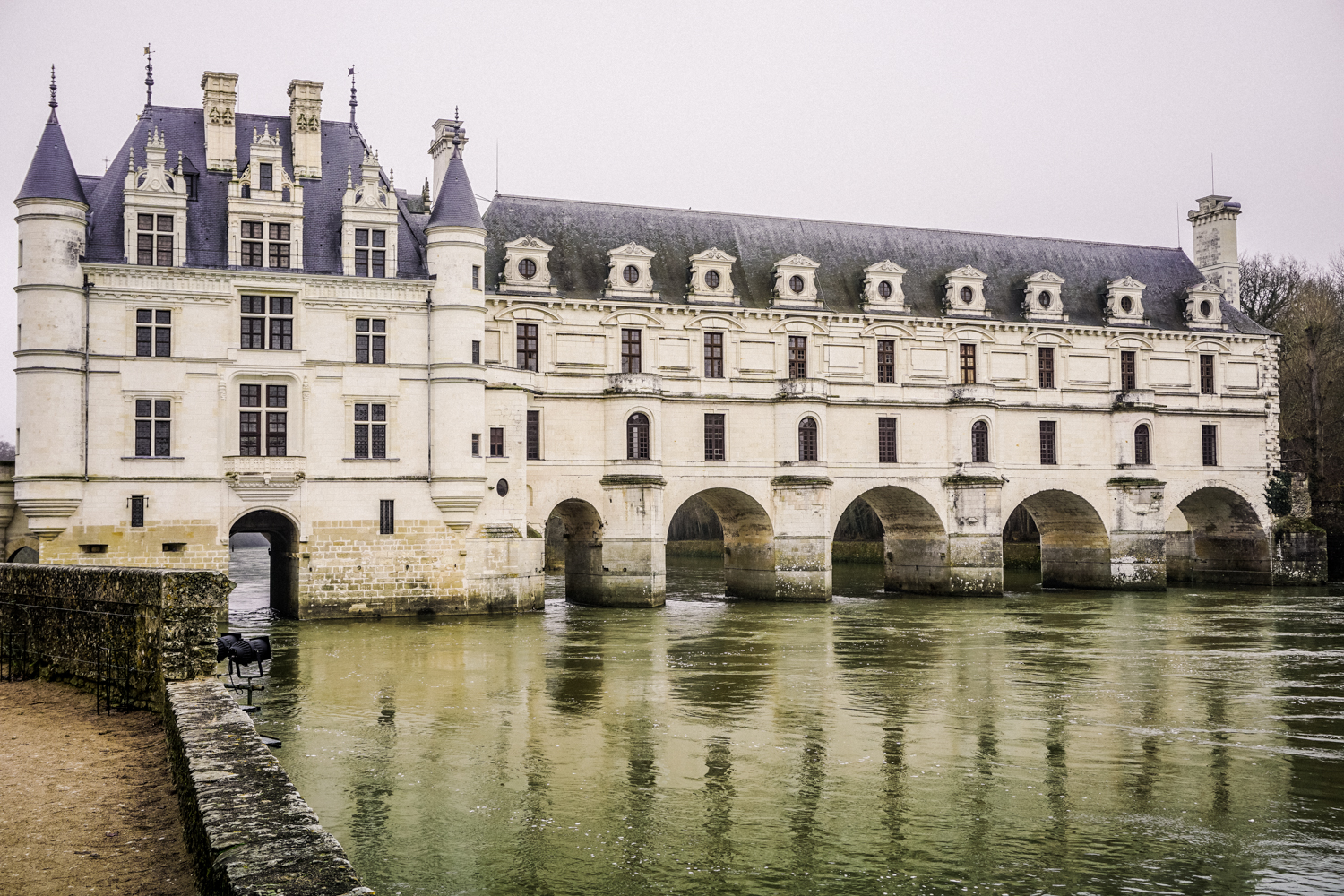 Chenonceau Castle, Loire Valley, France