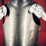 Rosenborg Castle Armour with Elephant Arms. Copenhagen Denmark