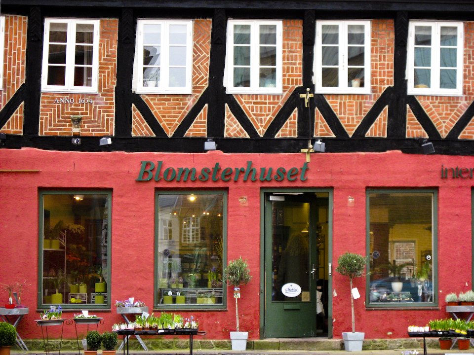 Flower Shop (Blomsterhuset) in Ribe Denmark