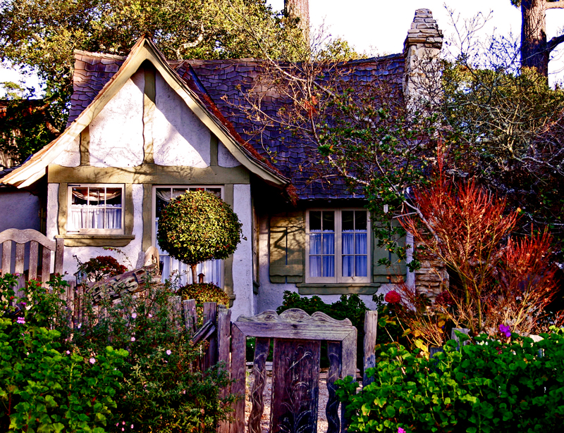 Learn about the Hansel and Gretel Cottages of Carmel California