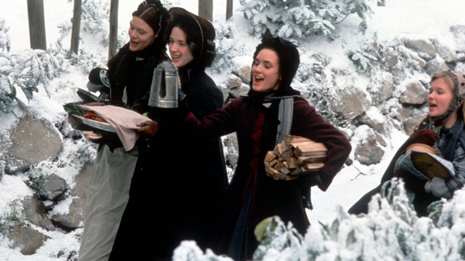 Little Women Movie at Christmas