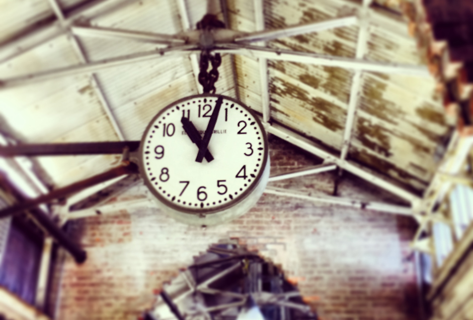 Train Station Clock on Hygge House