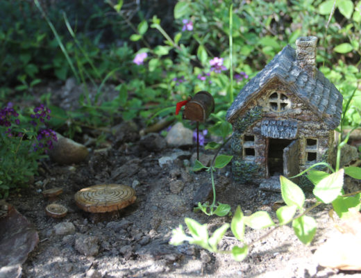 Fairy Garden at Topanga California Hygge House